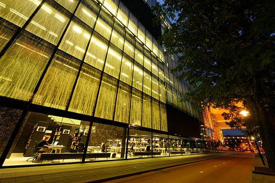 De Universiteitsbibliotheek Utrecht op de Uithof van Donker Utrecht