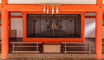 Japanse tempel 3 van Henk de Groot
