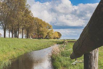 Foto van de Zwarten dijk bij Kampen van Fotografiecor .nl