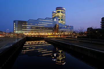 De kantoren van Rabobank aan de Croeselaan in Utrecht van Donker Utrecht