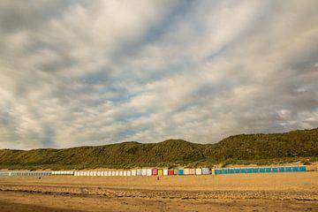 Bunte Strandhäuser von Mario Lere