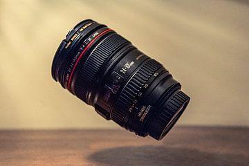 Zwevende Canon lens (levitation) sur Edzard Boonen