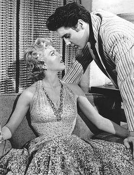 Elvis Presley und Anne Neyland von Bridgeman Images