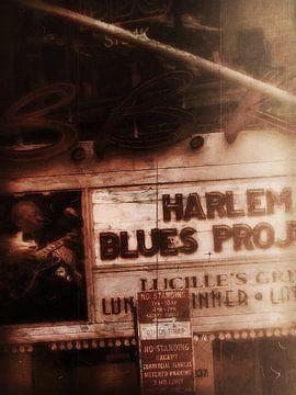 New York Harlem Blues van Joost Hogervorst