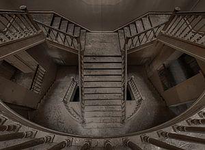 Oud en verlaten wonderlijke wereld van Urbex fotografie  van