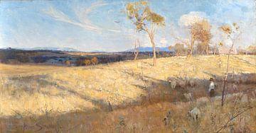 Goldener Sommer, Eaglemont, Arthur Streeton