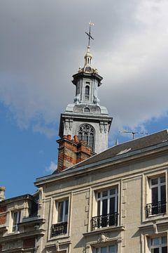 Kerktoren in frankrijk van EnWout