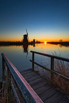 Kinderdijk, UNESCO werelderfgoed van Dirk-Jan Steehouwer