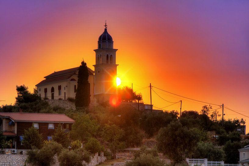 Zakynthos kerk van Dennis van de Water