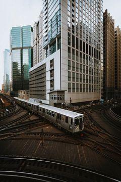 Transports publics de Chicago sur Maikel Claassen Fotografie