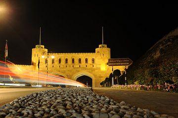 Muscat Gate Museum bei Nacht von Alphapics