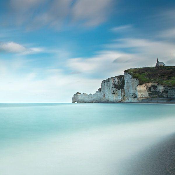 Étretat, Frankrijk van Tony Ruiter