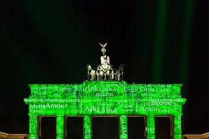 Brandenburger Tor in een bijzonder licht