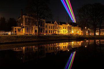 Maliesingel in Utrecht met Sol Lumen sur Donker Utrecht