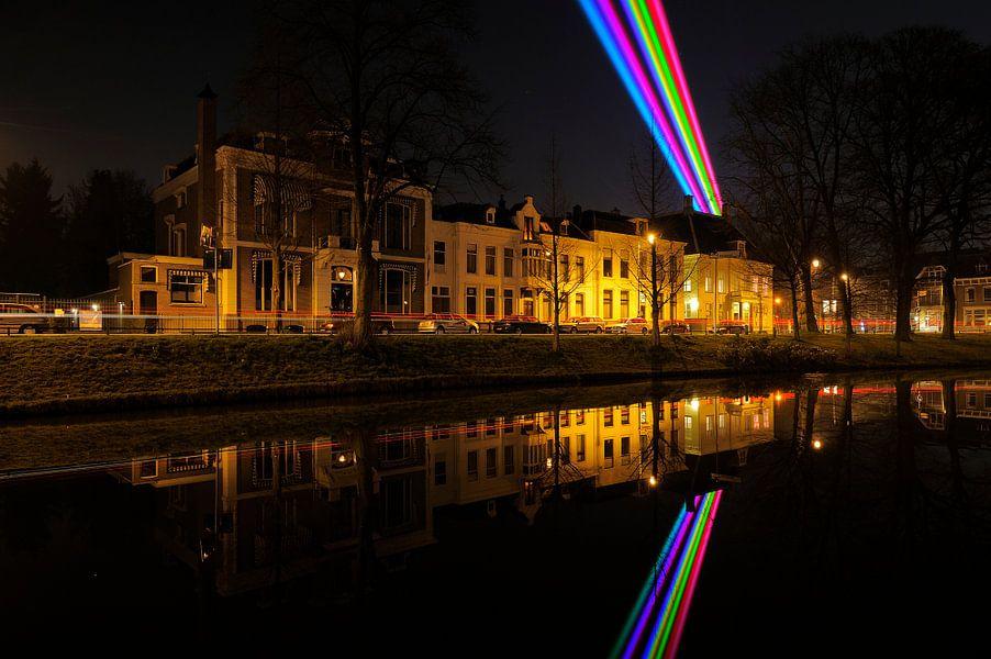 Maliesingel in Utrecht met Sol Lumen van Donker Utrecht