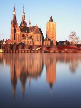 St-Martinuskerk Cuijk #5 (kleur) van Lex Schulte
