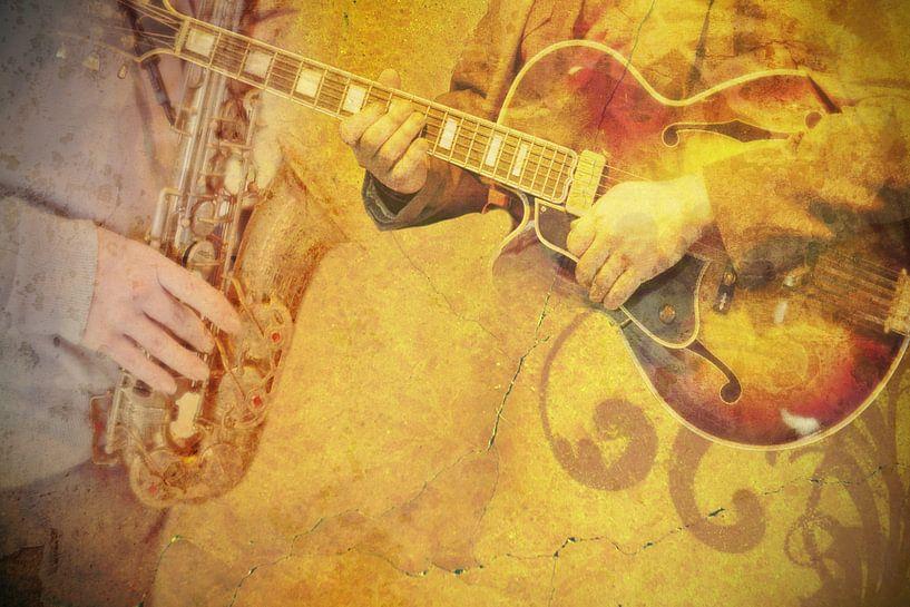 jazz dans un café sur Ariadna de Raadt-Goldberg
