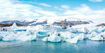 Isländischer Eisberg von Niels Hemmeryckx