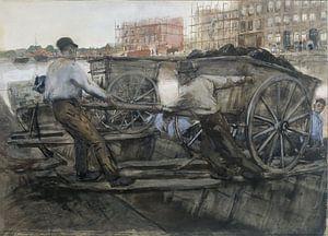 Baustelle, George Hendrik Breitner, um 1900