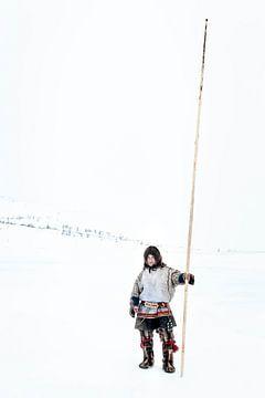 Porträt des Nenet in Sibirien von Milene van Arendonk
