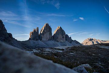 Drei Zinnen Dolomiten Südtirol Sonnenaufgang von Daniel Kogler