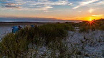 Sonnenuntergang auf Föhr von Jens Sessler