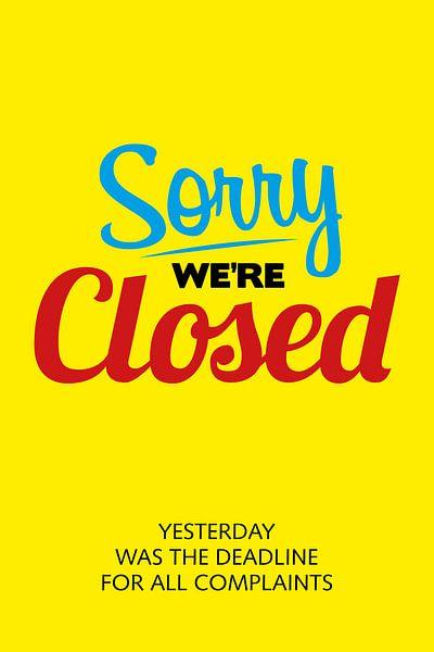 Closed van Harry Hadders