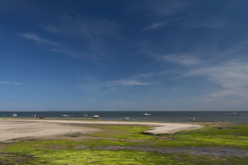fishing boat at low tide von Nicole van As