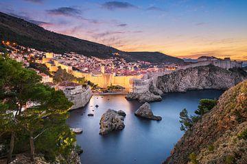 Die ummauerte Stadt Dubrovnik von Michael Abid
