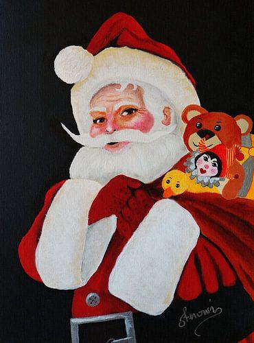 Weihnachtsmann van Iwona Sdunek alias ANOWI
