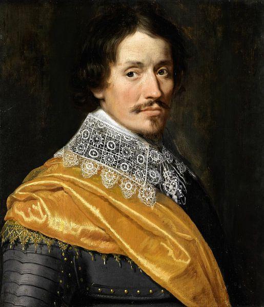 Porträt eines Offiziers, Wybrand de Geest der Ältere von Meesterlijcke Meesters