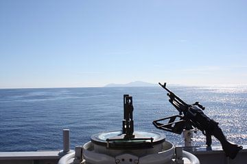 Afrika vanaf marine schip von Gilian Fijen
