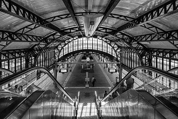 historischer Bahnhof Den Bosch von Pixel Meeting Point