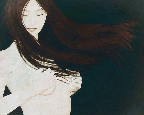 Femme nue dans l'esprit