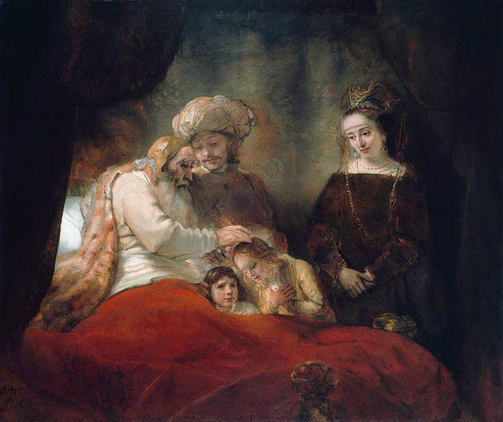 Rembrandt van Rijn van 1000 Schilderijen
