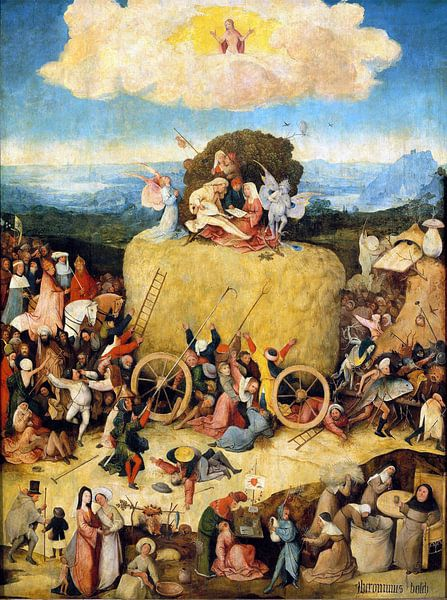 Jheronimus Bosch. De Hooiwagen van 1000 Schilderijen