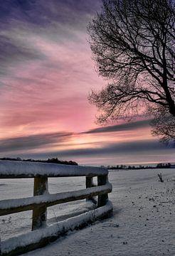 Winter avond van