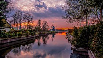 Sunset sur Reint van Wijk