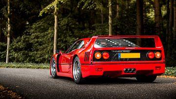Ferrari F40 van Ricardo van de Bor