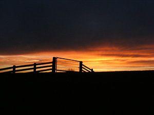 Zonsondergang.  Sunset.