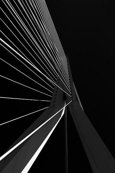 Erasmusbrug Rotterdam van Vincent de Moor