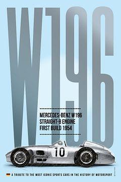 Mercedes-Benz W196 Tribute von Theodor Decker