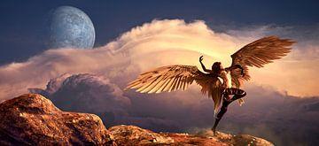 Engel uit Egypte van Atelier Liesjes