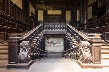 Verlassene Treppe. von Roman Robroek