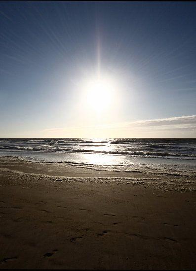 Ondergaande zon van Thijs Schouten