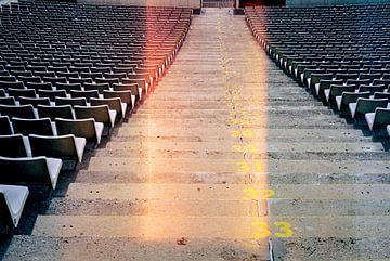 Vintage stadion van Wouter van der Krol