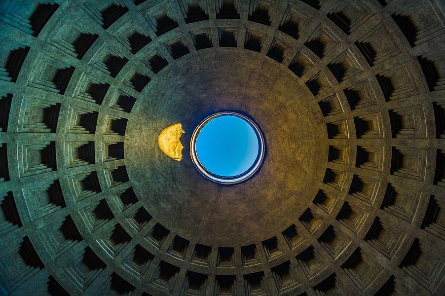 De koepel van het Pantheon van Frank Lenaerts