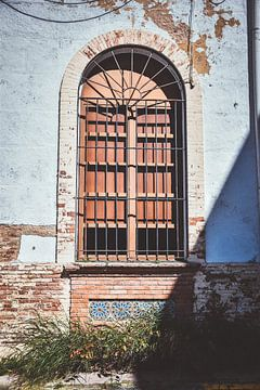 Altes Gebäude in Ronda, Spanien von Maartje Abrahams