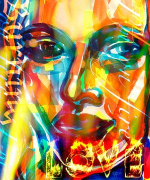 In vuur en vlam  van ART Eva Maria