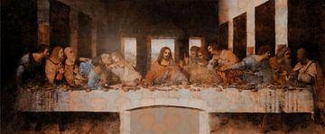 Das letzte Abendmahl von Da Vinci von Rudy & Gisela Schlechter